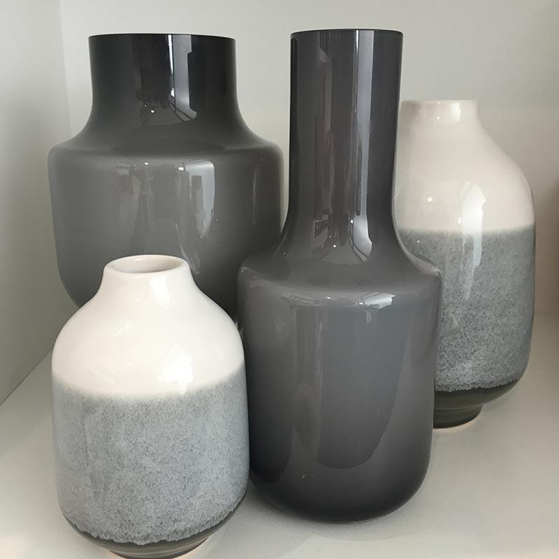 Grey-Vases